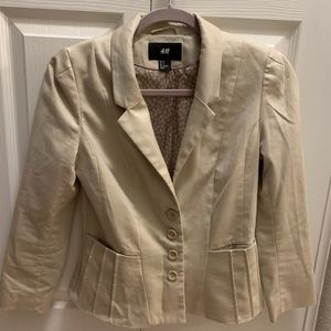 H&M khaki blazer